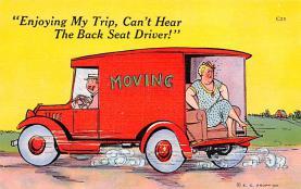 top025713 - Trucks / Buses /  Vans Post Card