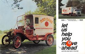 top025723 - Trucks / Buses /  Vans Post Card