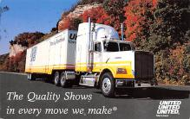 top025725 - Trucks / Buses /  Vans Post Card