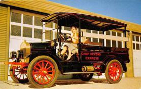 top025735 - Trucks / Buses /  Vans Post Card
