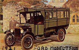 top025739 - Trucks / Buses /  Vans Post Card