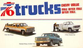 top025753 - Trucks / Buses /  Vans Post Card