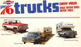 top025755 - Trucks / Buses /  Vans Post Card