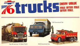 top025757 - Trucks / Buses /  Vans Post Card