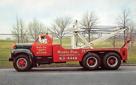 top025781 - Trucks / Buses /  Vans Post Card