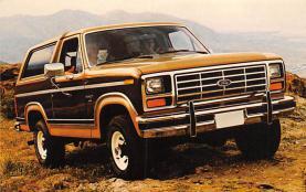 top025789 - Trucks / Buses /  Vans Post Card