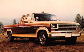 top025791 - Trucks / Buses /  Vans Post Card