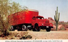 top025801 - Trucks / Buses /  Vans Post Card
