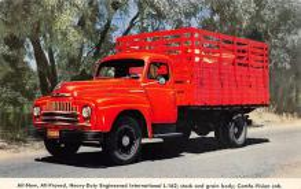 top025805 - Trucks / Buses /  Vans Post Card