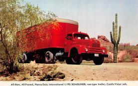 top025811 - Trucks / Buses /  Vans Post Card