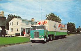 top025815 - Trucks / Buses /  Vans Post Card