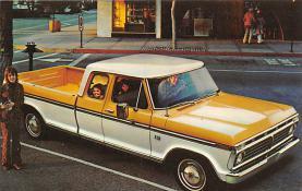 top025821 - Trucks / Buses /  Vans Post Card