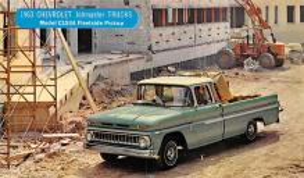 top025875 - Trucks / Buses /  Vans Post Card