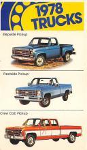 top025901 - Trucks / Buses /  Vans Post Card
