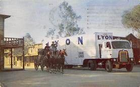 top025961 - Trucks / Buses /  Vans Post Card