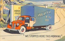 top025981 - Trucks / Buses /  Vans Post Card