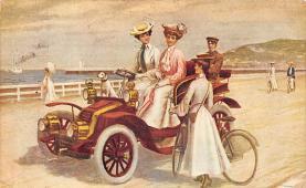top026321 - Vinatge Auto Pre 1950 Post Card