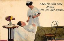 top026573 - Nurse Post Card