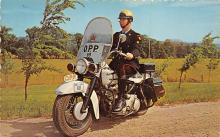 top026617 - Police Post Card