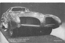 top026767 - Race Car Post Card