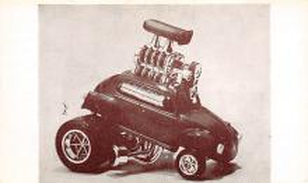 top026775 - Race Car Post Card