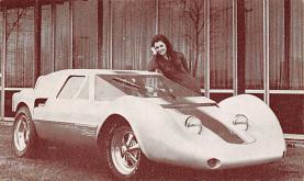 top026777 - Race Car Post Card