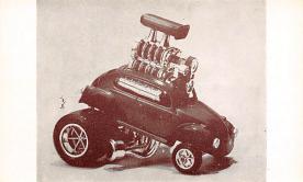 top026793 - Race Car Post Card
