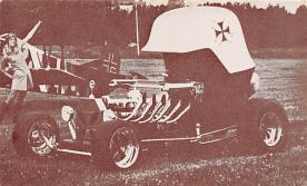 top026803 - Race Car Post Card