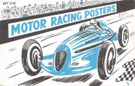 top026815 - Race Car Post Card