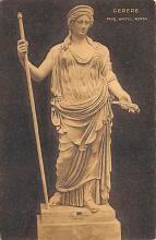 top026883 - Statues / Monuments Postcard