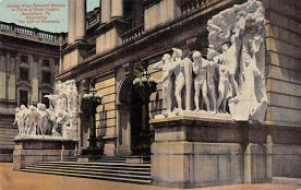 top027003 - Statues / Monuments Postcard