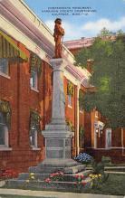 top027019 - Statues / Monuments Postcard