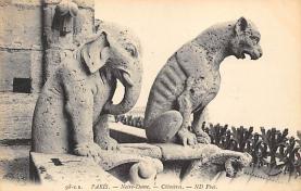 top027061 - Statues / Monuments Postcard