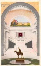 top027075 - Statues / Monuments Postcard