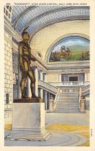 top027077 - Statues / Monuments Postcard