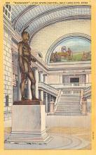 top027079 - Statues / Monuments Postcard