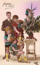 top027403 - Xmas Trees Post Card