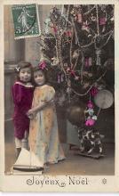top027417 - Xmas Trees Post Card