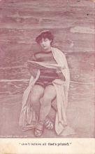 top027451 - Bathing Beauty Post Card