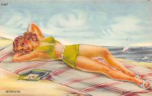 top027493 - Bathing Beauty Post Card