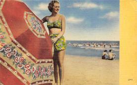 top027523 - Bathing Beauty Post Card