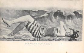 top027655 - Bathing Beauty Post Card