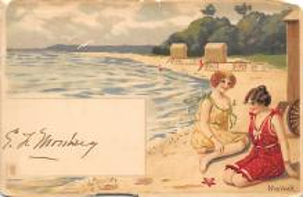 top027701 - Bathing Beauty Post Card