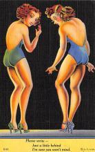 top027705 - Bathing Beauty Post Card