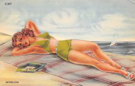 top027775 - Bathing Beauty Post Card