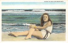 top027785 - Bathing Beauty Post Card