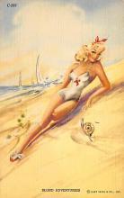 top027793 - Bathing Beauty Post Card