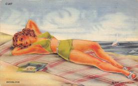 top027973 - Bathing Beauty Post Card