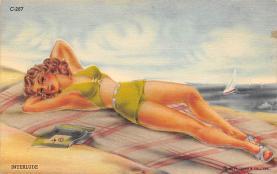 top027975 - Bathing Beauty Post Card