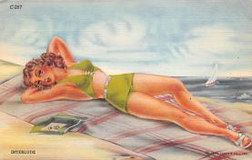 top027985 - Bathing Beauty Post Card
